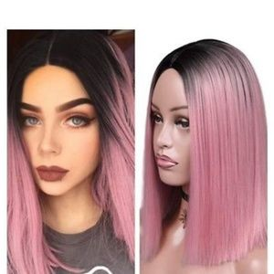 Ombre Pink Wig
